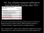 q1 are voluntary measures sufficient to meet sheff goals and the other 7028