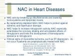 nac in heart diseases