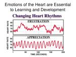 emotions of the heart are essential to learning and development