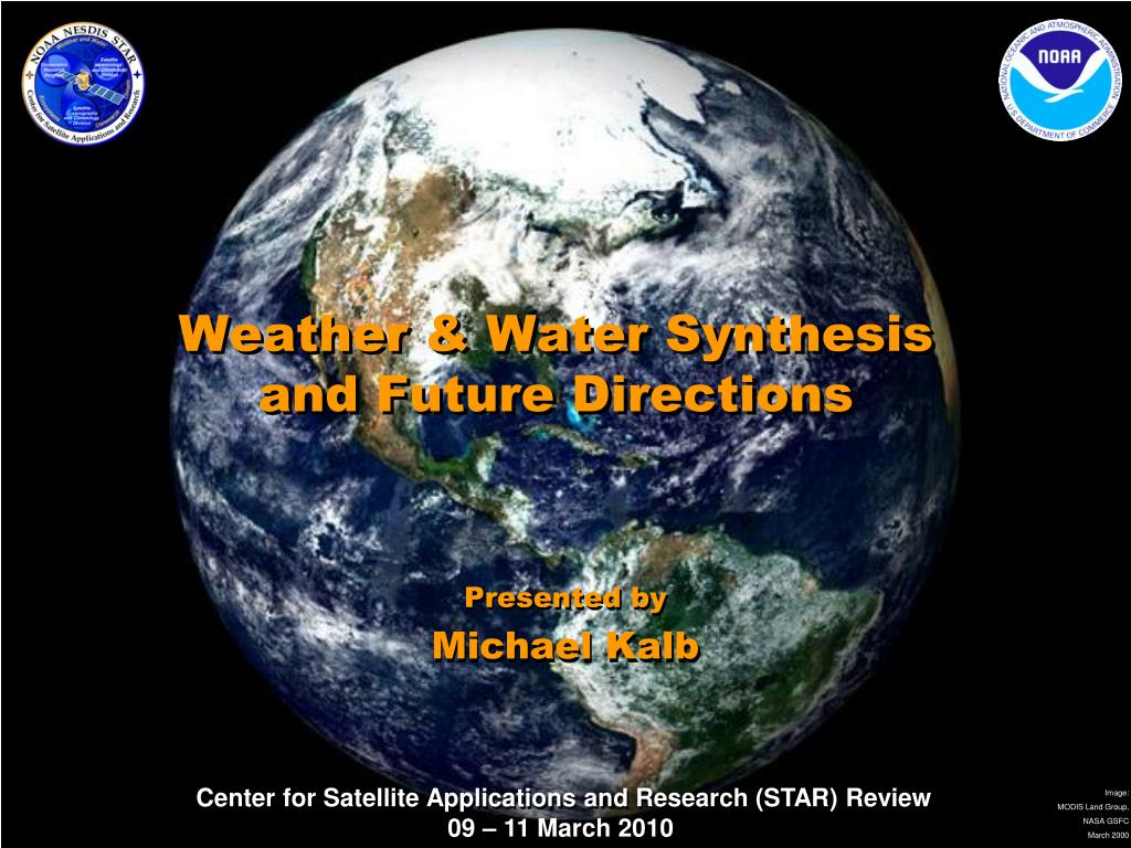 weather water synthesis and future directions l.