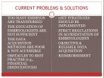 current problems solutions