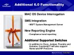 additional 6 0 functionality