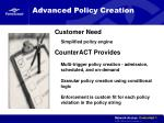 advanced policy creation