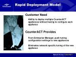 rapid deployment model
