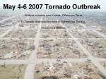 may 4 6 2007 tornado outbreak