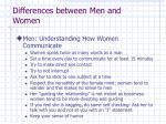 differences between men and women8