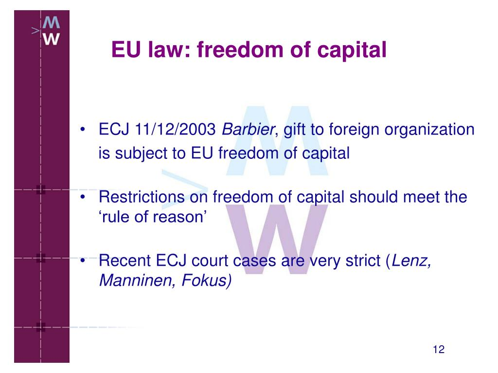 ECJ 11/12/2003
