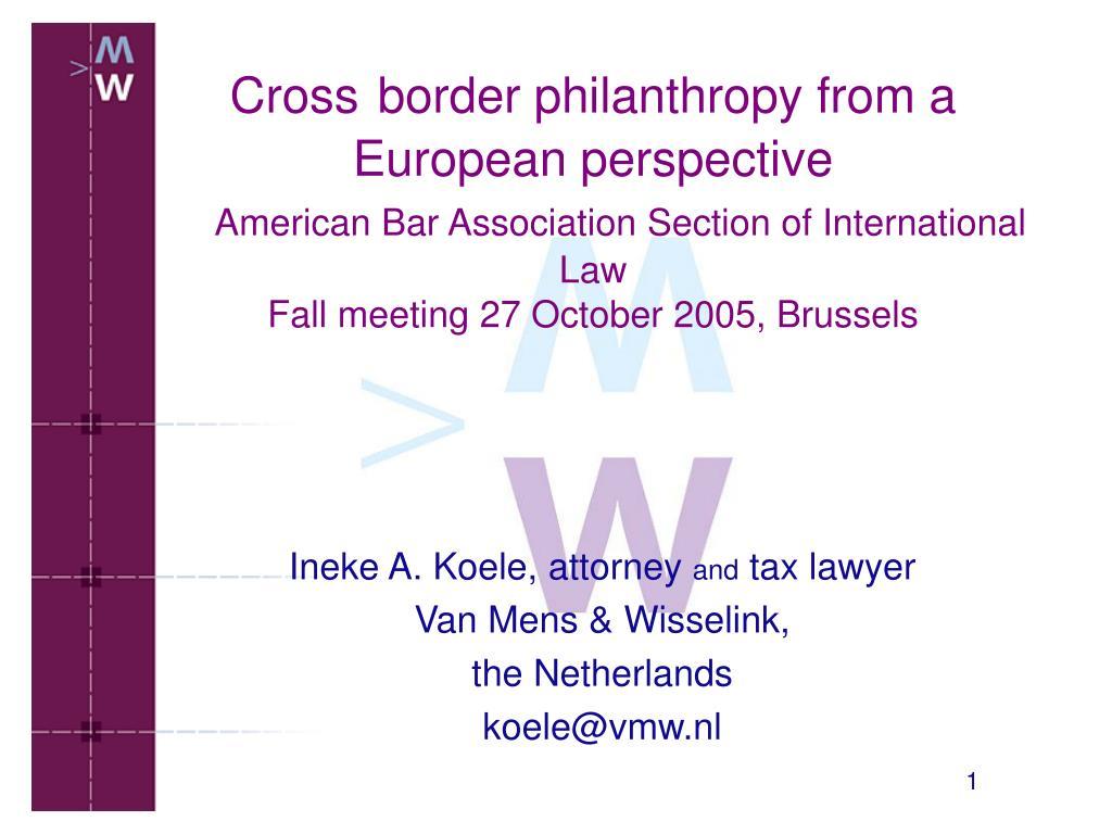 ineke a koele attorney and tax lawyer van mens wisselink the netherlands koele@vmw nl l.