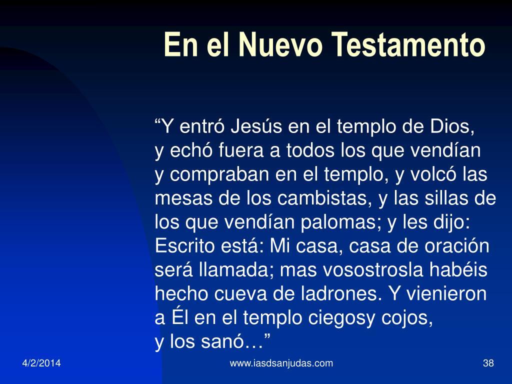 En el Nuevo Testamento