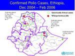 confirmed polio cases ethiopia dec 2004 feb 2006