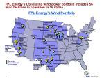 fpl energy s wind portfolio