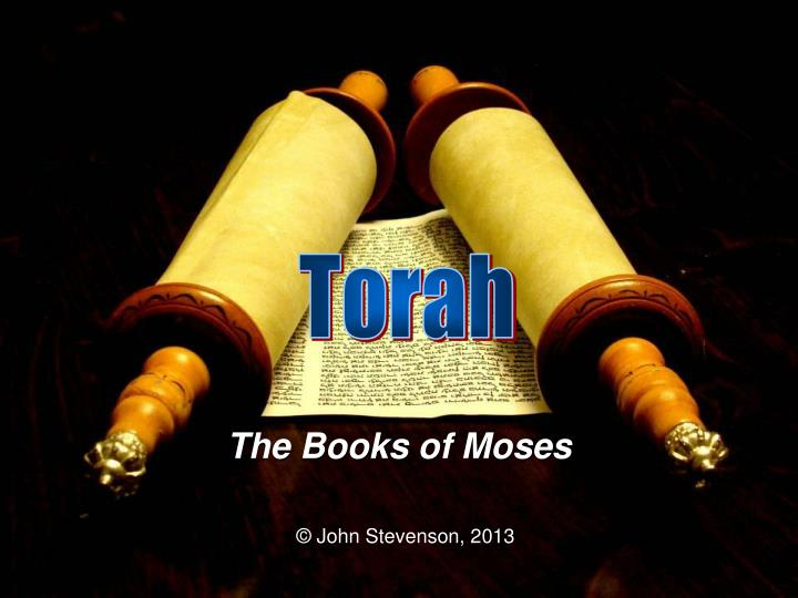 the books of moses n.
