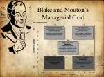 blake and mouton s managerial grid