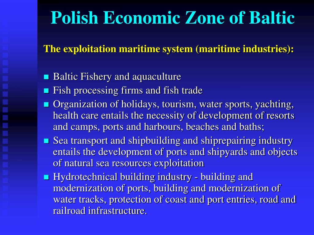 Polish Economic Zone of Baltic
