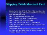 shipping polish merchant fleet