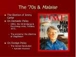 the 70s malaise