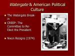 watergate american political culture
