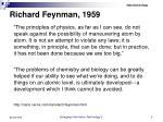 richard feynman 1959