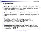 the nni goals