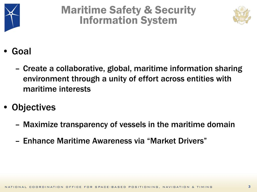 Maritime Safety & Security