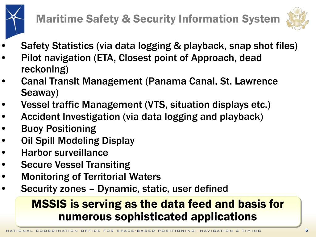 Maritime Safety & Security Information System