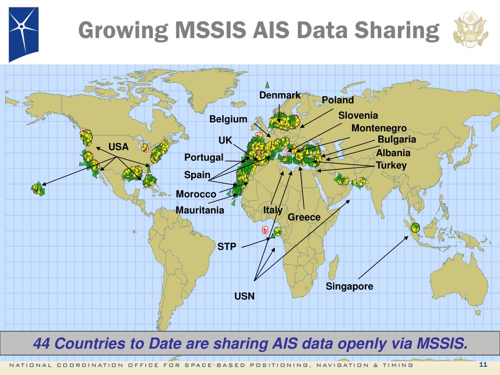 Growing MSSIS AIS Data Sharing