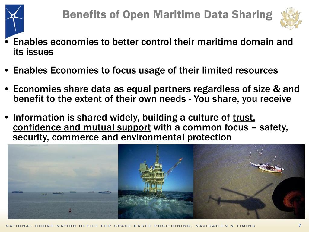 Benefits of Open Maritime Data Sharing