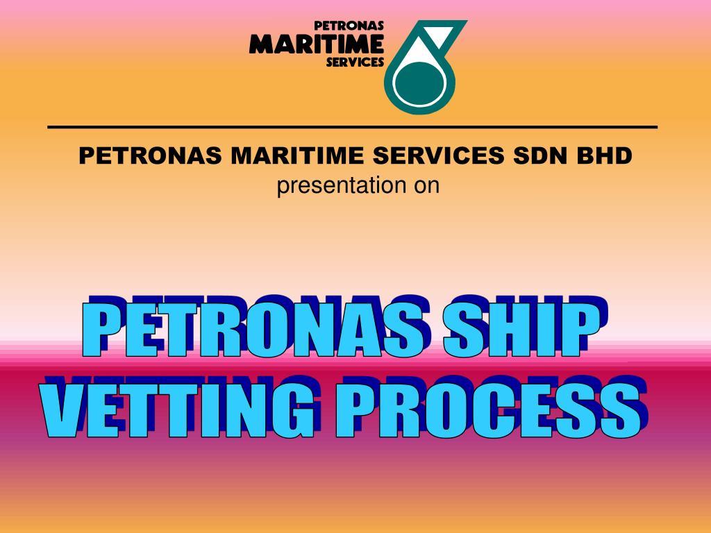 petronas maritime services sdn bhd presentation on l.