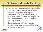 f246 accom of needs cont22