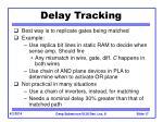delay tracking