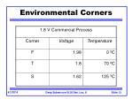environmental corners