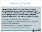 essential element 3