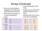 arrays continued35
