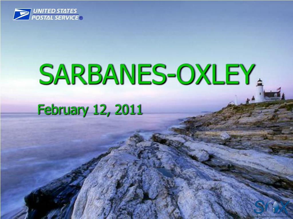 sarbanes oxley l.