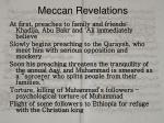 meccan revelations