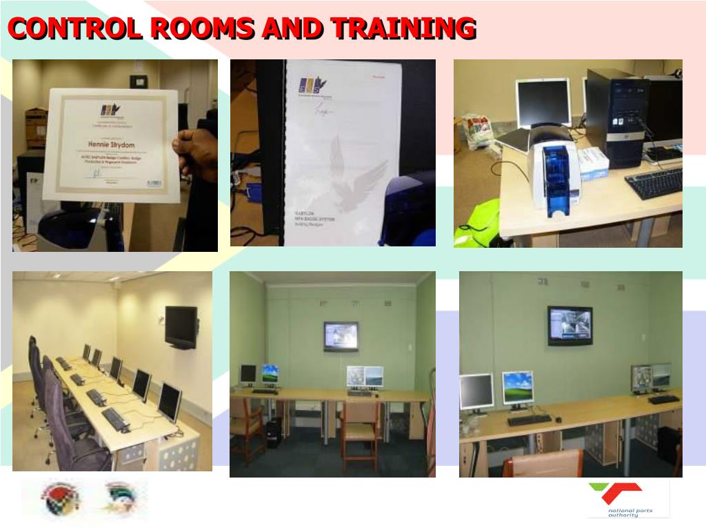 CONTROL ROOMS AND TRAINING