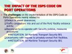 the impact of the isps code on port operations14