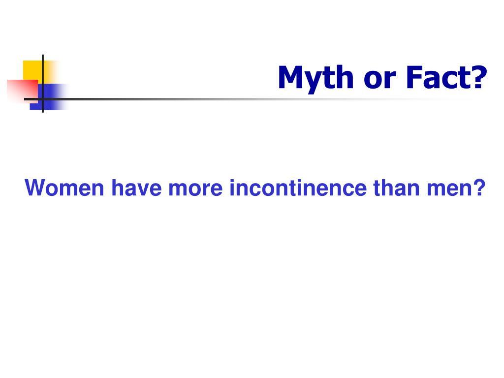 myth or fact l.