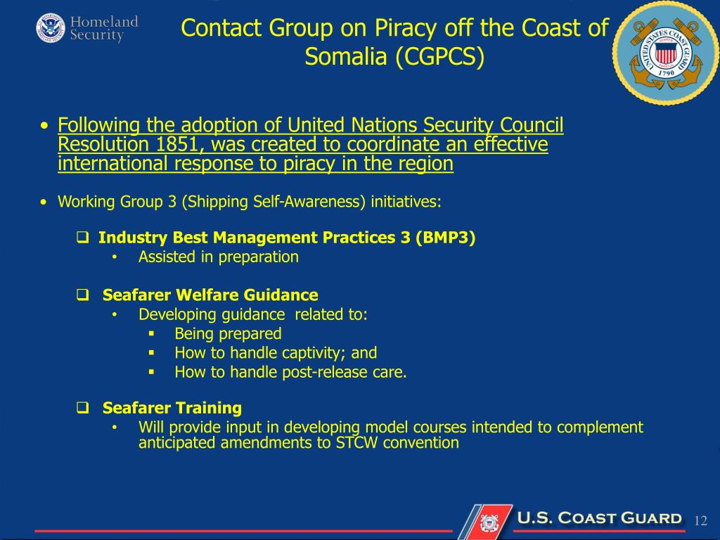 Contact Group on Piracy off the Coast of Somalia (CGPCS)
