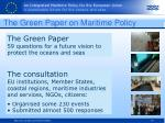 the green paper on maritime policy
