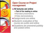 open course on project management1