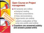 open course on project management6