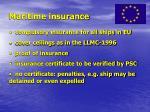 maritime insurance