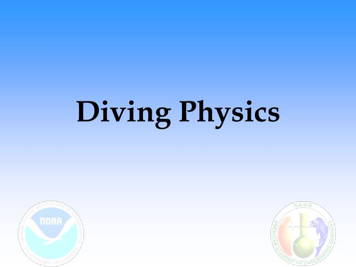 diving physics n.