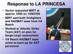response to la princesa13