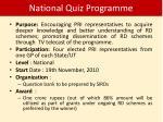 national quiz programme9