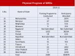 physical progress of sirds33