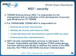 wg7 security