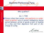 maritime performing party15