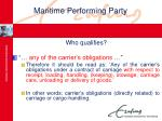 maritime performing party19